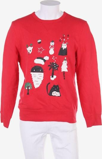 H&M Sweatshirt in M in rot, Produktansicht