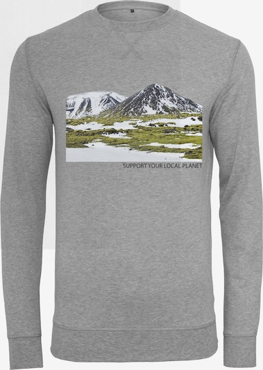 Merchcode Sweatshirt in grau, Produktansicht