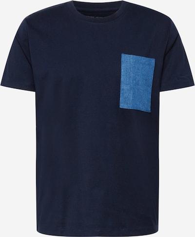 EDC BY ESPRIT T-Shirt in blue denim / dunkelblau, Produktansicht
