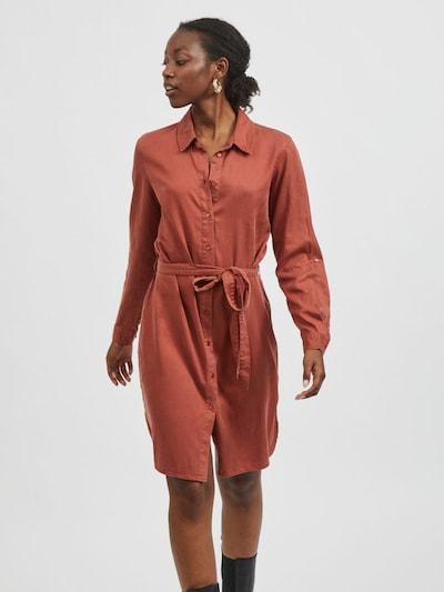 VILA Kleid in braun, Modelansicht