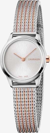 Calvin Klein Uhr in rosegold / silbergrau, Produktansicht