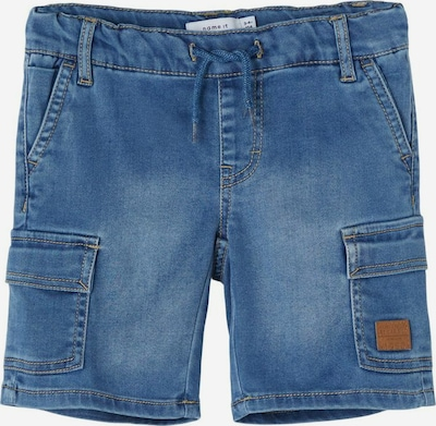 NAME IT Jean en bleu / marron, Vue avec produit