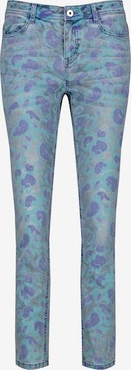TAIFUN Skinny Jeans mit Print in hellblau, Produktansicht