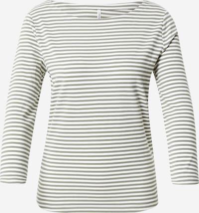 ONLY Shirt 'FIFI' in khaki / weiß, Produktansicht