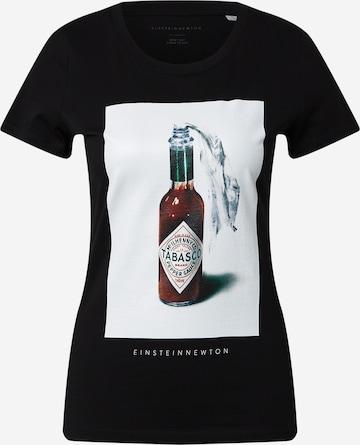 EINSTEIN & NEWTON T-Shirt 'Sauce' in Schwarz
