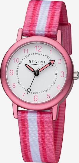 REGENT Uhr in rosa / weiß, Produktansicht