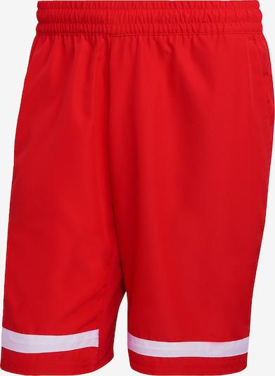 ADIDAS PERFORMANCE Shorts 'Club' in rot / weiß, Produktansicht
