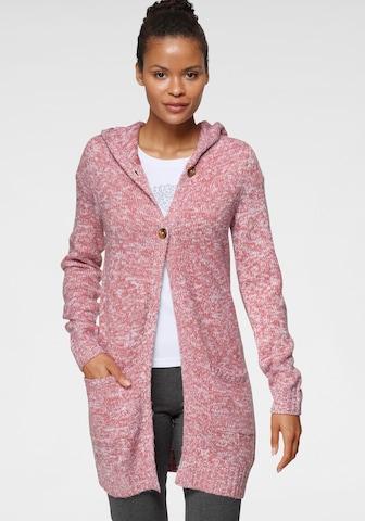 KangaROOS Knit Cardigan in Pink
