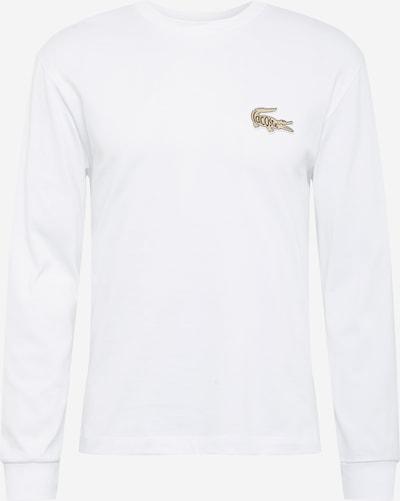 LACOSTE Koszulka w kolorze jasnobrązowy / białym, Podgląd produktu