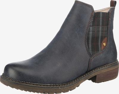 Relife Chelsea Boot in navy / basaltgrau / karminrot / schwarz, Produktansicht