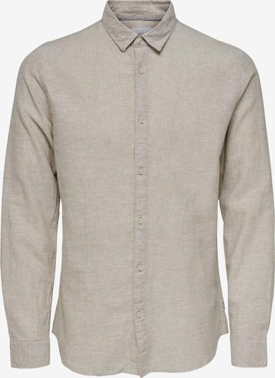 Only & Sons Hemd 'Caiden' in beige, Produktansicht