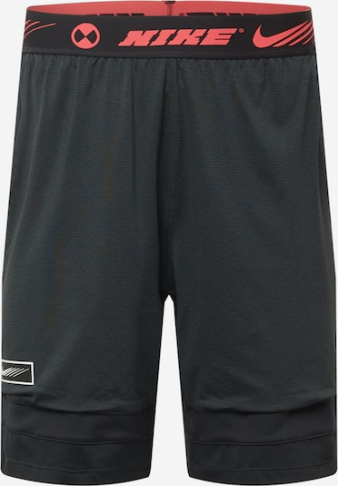 Pantaloni sport NIKE pe roșu / negru, Vizualizare produs
