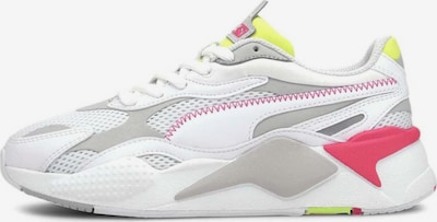 PUMA Nízke tenisky - sivá / ružová / biela: Pohľad spredu