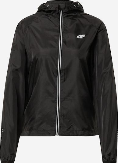 4F Chaqueta deportiva en negro / blanco, Vista del producto