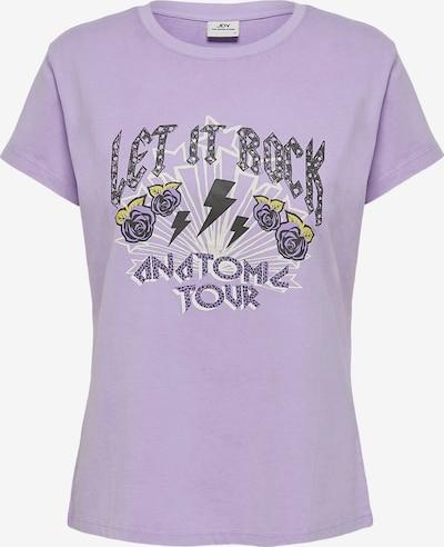 JACQUELINE de YONG T-Shirt in pastelllila / mischfarben, Produktansicht