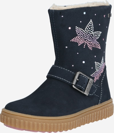 LURCHI Škornji za v sneg 'YANNI-TEX' | temno modra / roza / bela barva, Prikaz izdelka