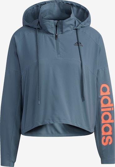 ADIDAS PERFORMANCE Veste de sport en bleu-gris / saumon, Vue avec produit