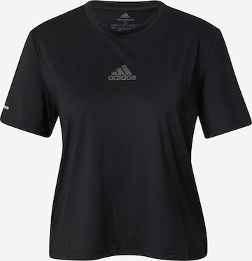 ADIDAS PERFORMANCE Λειτουργικό μπλουζάκι σε μαύρο