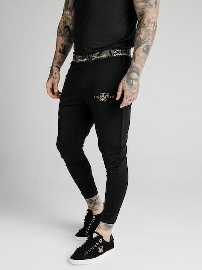 SikSilk Kalhoty - černá, Model/ka