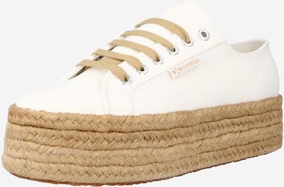 SUPERGA Zemie brīvā laika apavi, krāsa - dabīgi balts, Preces skats