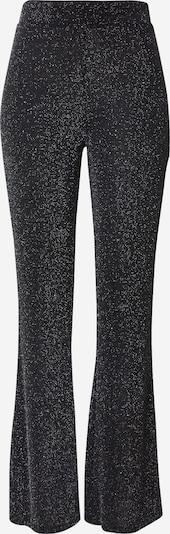 Pantaloni ABOUT YOU pe negru / argintiu, Vizualizare produs