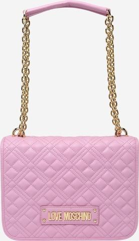 Love Moschino Чанта за през рамо в лилав