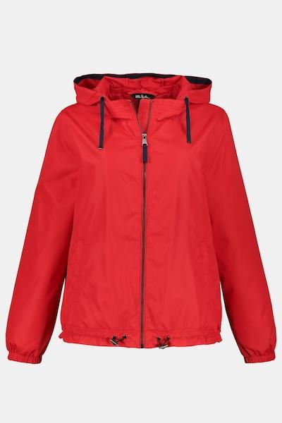 Ulla Popken Tussenjas in de kleur Rood, Productweergave