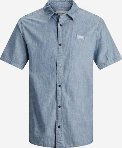 JACK & JONES Hemd 'Portland' in blaumeliert, Produktansicht