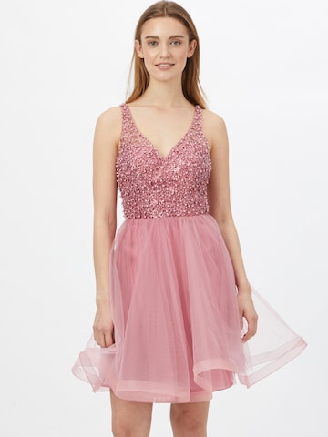 Laona Kokteilové šaty - ružová
