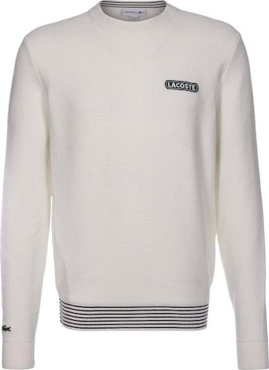 LACOSTE Pullover in schwarz / weiß, Produktansicht