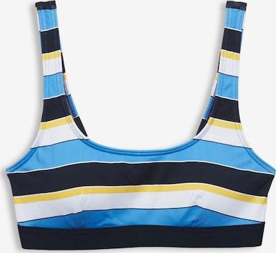 ESPRIT Bikinitop in blau / gelb / weiß, Produktansicht