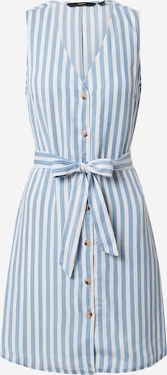 VERO MODA Kleid in rauchblau / weiß, Produktansicht