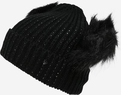 Megzta kepurė iš GUESS , spalva - juoda, Prekių apžvalga