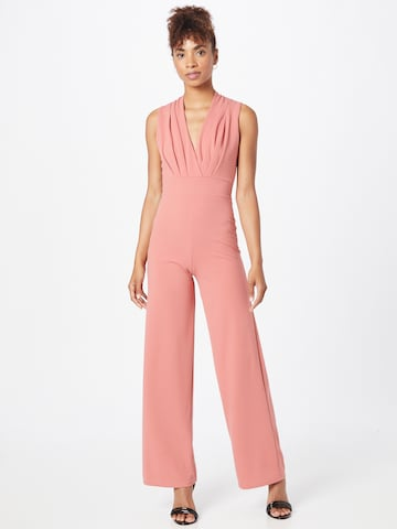 WAL G. Jumpsuit 'WHITNEY' in Oranje