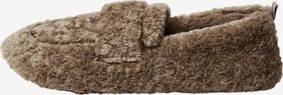 Papuci de casă 'Castor' MANGO pe maro, Vizualizare produs