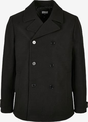 Urban Classics Between-seasons coat in Black