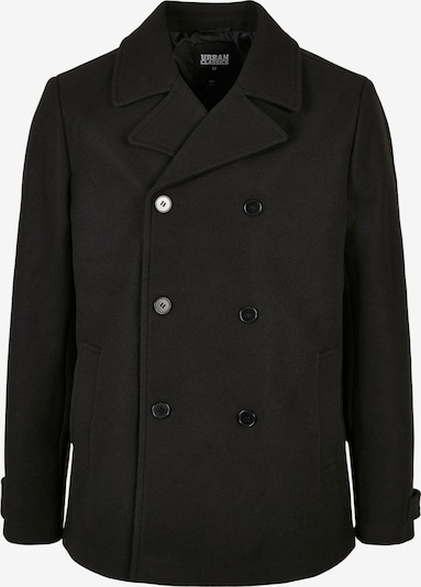 Urban Classics Ανοιξιάτικο και φθινοπωρινό παλτό σε μαύρο, Άποψη προϊόντος