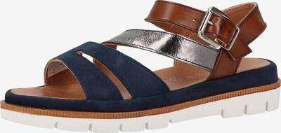 Marc Shoes Sandalen in blau / braun / silber, Produktansicht