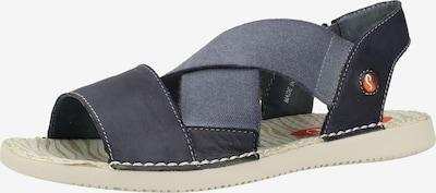 Softinos Sandale in blau, Produktansicht