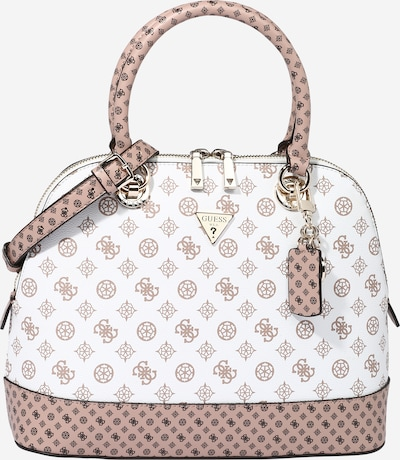 GUESS Handbag 'Cessily' in Light brown / Black / White, Item view