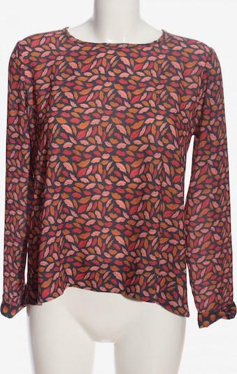 Risskio Schlupf-Bluse in M in blau / hellorange / pink, Produktansicht