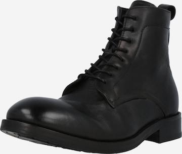Hudson London Lace-Up Boots 'CEDAR' in Black