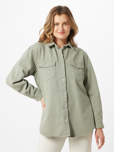 Missguided Bluse in khaki, Modelansicht