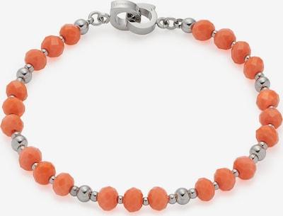 LEONARDO Armband in orange / silber, Produktansicht