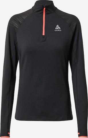 ODLO Funksjonsskjorte 'Axalp' i svart