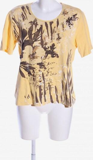 Rabe T-Shirt in XXL in braun / pastellgelb, Produktansicht