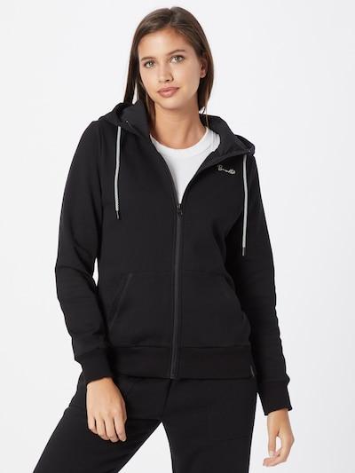 BRUNOTTI Sportief sweatvest 'Judy-N' in de kleur Zwart / Wit: Vooraanzicht