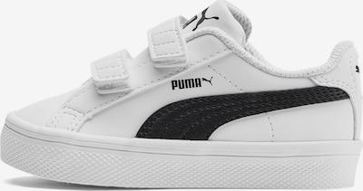 PUMA Baskets en noir / blanc, Vue avec produit