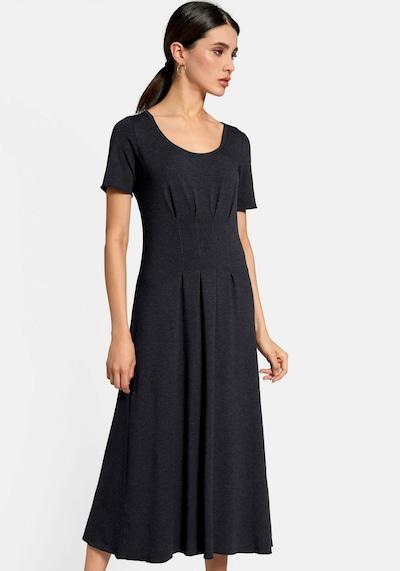 Peter Hahn Jersey-Kleid in Maxi-Länge in blau, Modelansicht