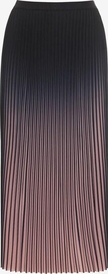 HALLHUBER Rock in rosa / schwarz, Produktansicht